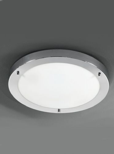 Franklite CF5682 Chrome Ceiling Light